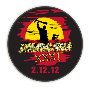 Legapalooza Button