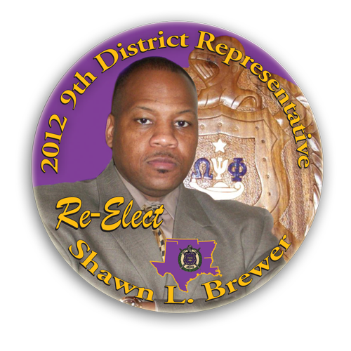 Shawn Brewer Campaign Button